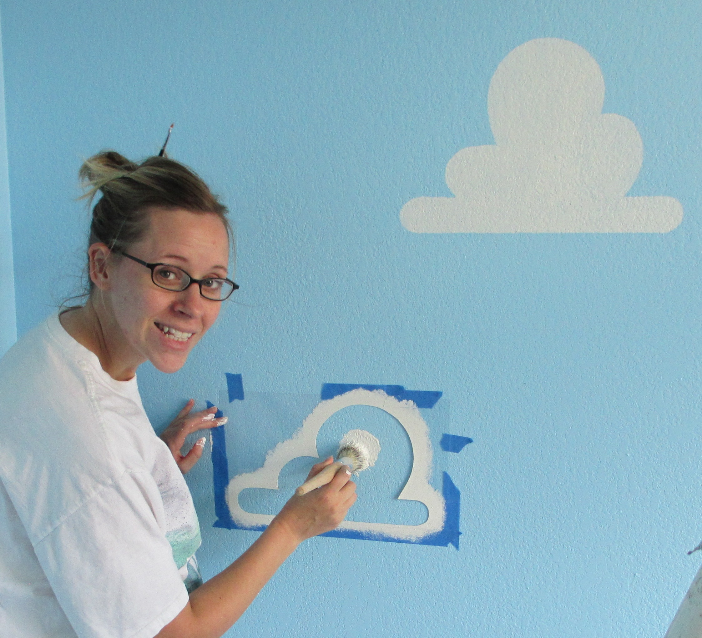 how to paint toy story clouds living lullaby designs